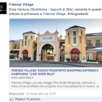 StyleNotes featured - Fidenza Village