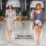 CATWALK – ELENA MIRO' SPRING / SUMMER 2011