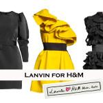 LANVIN FOR H&M – WOMEN MINI-DRESSES PART I