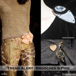 TREND ALERT – PINS & BROOCHES