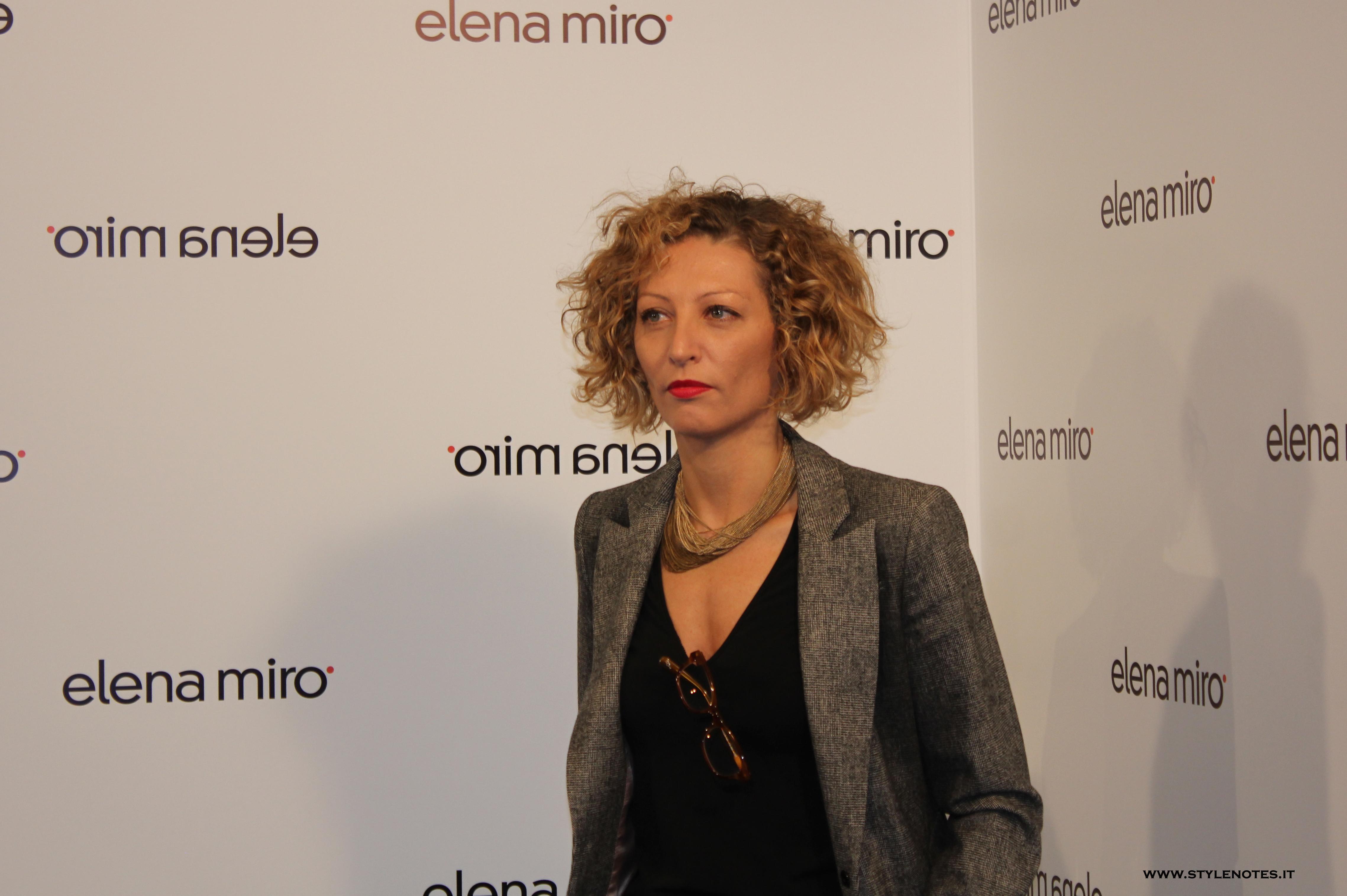 ELENA MIRO' – INTERVISTA A ELENA MIROGLIO