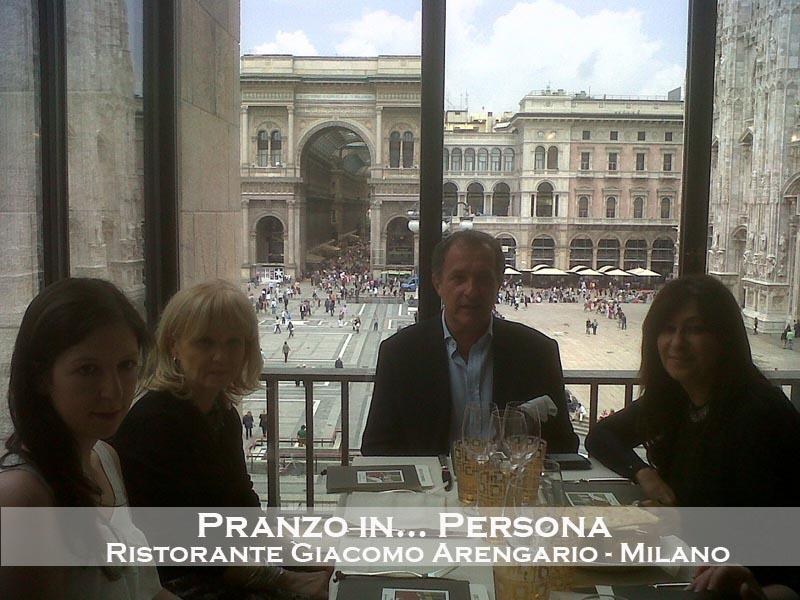 UN PRANZO IN PERSONA @ RISTORANTE GIACOMO ARENGARIO, MILANO