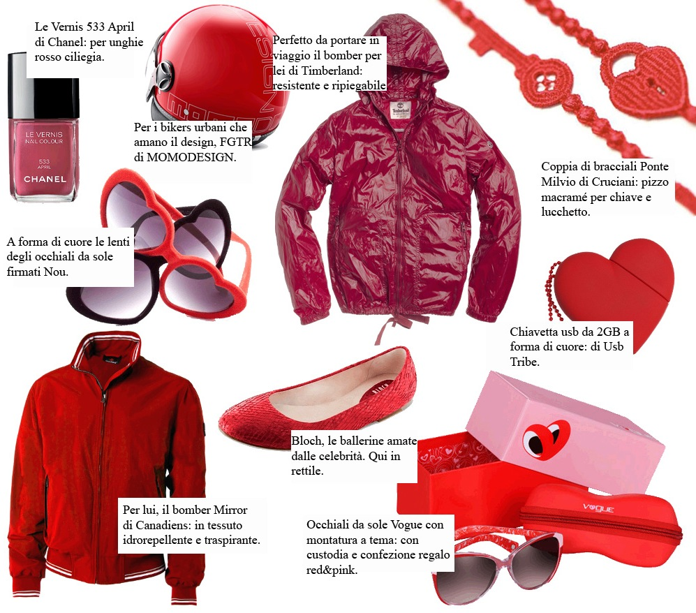 GIFT GUIDE: SAN VALENTINO 2012 IN TOTAL RED