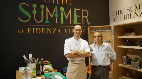 FOOD – LA CUCINA VEGANA DELLO CHEF SIMONE SALVINI: SHOWCOOKING AL FIDENZA VILLAGE