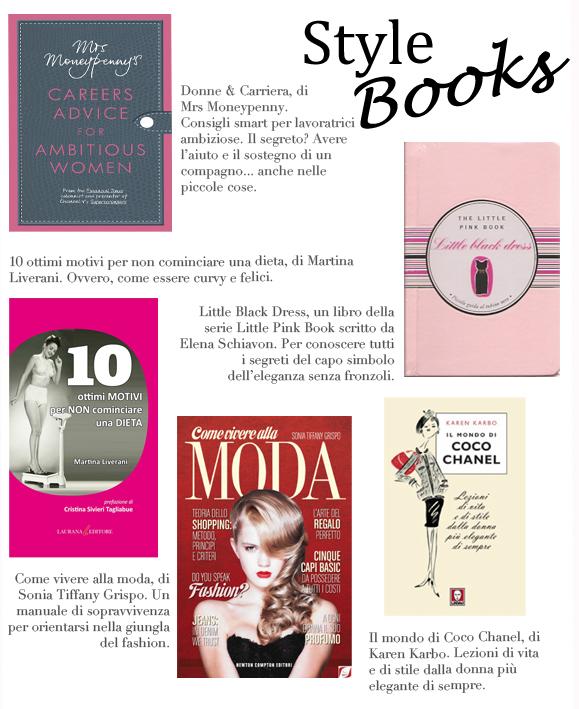STYLE BOOKS – TANTE NOVITÀ TUTTE DA LEGGERE