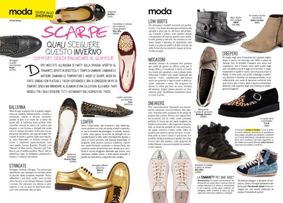 Spray Magazine Grispo Scarpe autunno 2012