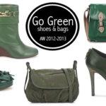 ACCESSORI – GO GREEN! BORSE E SCARPE NELLE NUANCE DEL VERDE PER L'INVERNO 2013