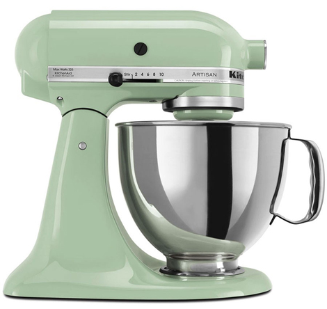 Kitchen Aid robot da cucina pistacchio