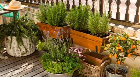Giardino e terrazzo archives stylenotes appunti di - Decorare il terrazzo ...