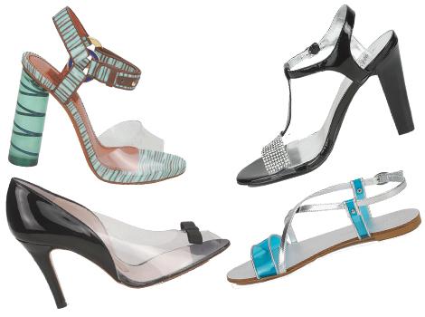 scarpe spartoo plexiglass pvc trasparente Missoni estate 2013