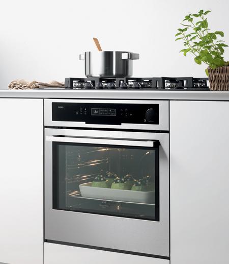 Vaporex di electrolux rex forno a vapore per piatti sani for Forno combinato a vapore electrolux