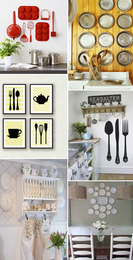 Kitchen wall decor 8 idee per decorare le pareti della cucina for Decorare le pareti