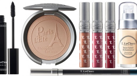 LECLERC PRESENTA PARIS L'ÉTÉ: IL MAKE UP PER L'ESTATE 2014 SI ISPIRA ALLE DONNE PARIGINE
