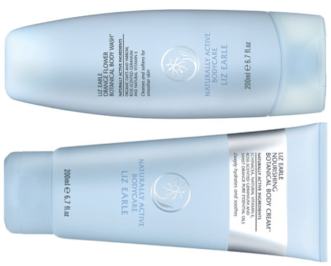 liz earle body wash cream linea corpo