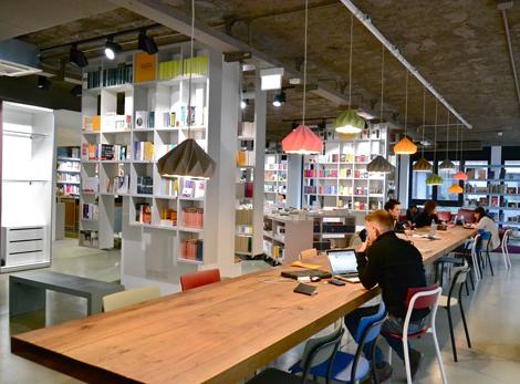 open milano libreria more than book coworking
