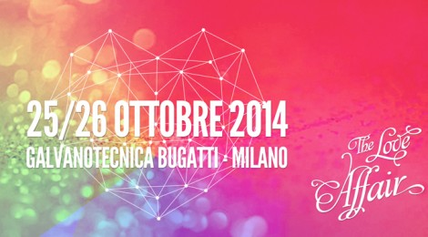 THE LOVE AFFAIR: A MILANO UN EVENTO SPECIALE DEDICATO AL MATRIMONIO CREATIVO