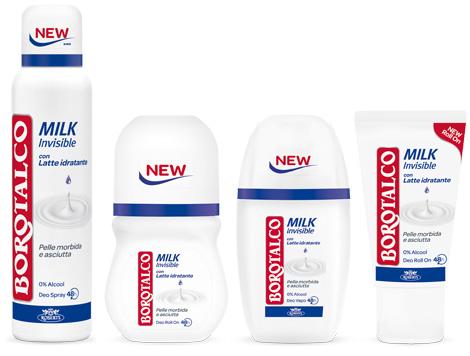 Deodorante Borotalco Milk Invisible