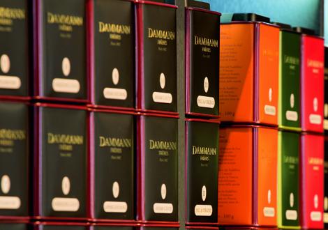 Dammann Frères tè Milano
