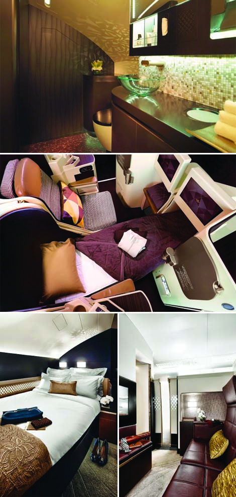 Etihad Airways residence first apartment suite business studio