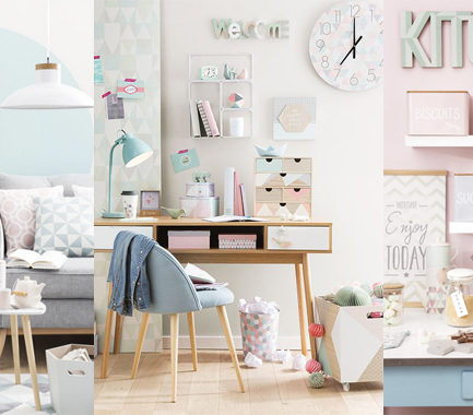 Maisons du Monde graphik pastel primavera estate 2016 home decor