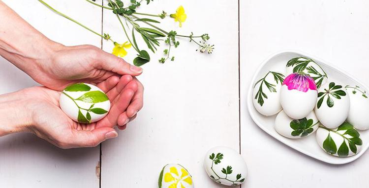 Diy Pasqua Easter eggs uova decorazioni tavola