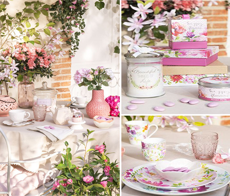 Maisons du Monde Garden Factory fiori primavera home decor