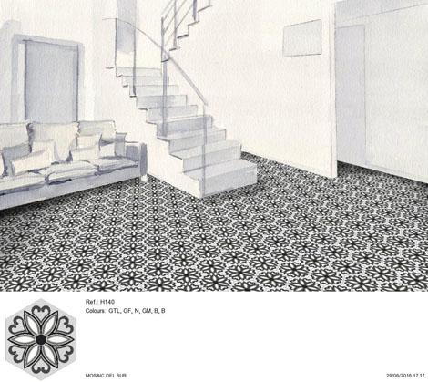 Cementine home decor pavimenti Mosaic del Sur
