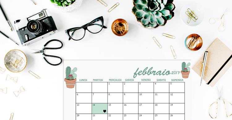 Scarica Calendario E Sfondi Di Febbraio 2017