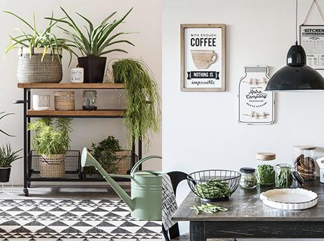 green market stile botanical di maisons du monde 2018. Black Bedroom Furniture Sets. Home Design Ideas