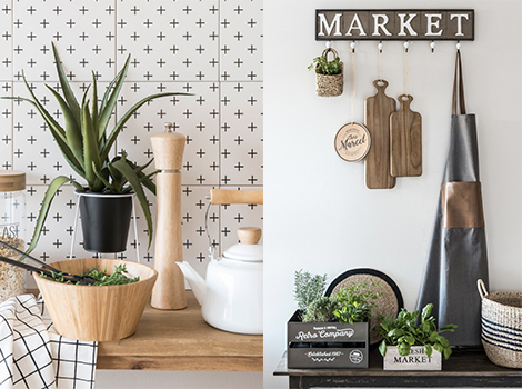 Maisons Du Monde Green Market botanical primavea 2018