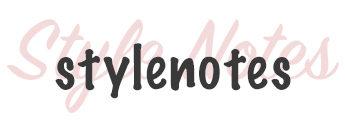 StyleNotes - Appunti di Stile - concept blog di Erica Ventura
