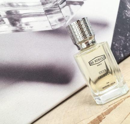 Ex Nihilo Cuir Celeste Mathieu César profumo fragranza cuoio