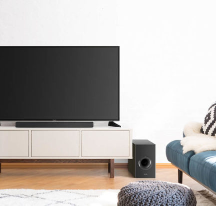 Panasonic soundbar audio