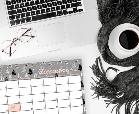 Calendario Dicembre Natale StyleNotes