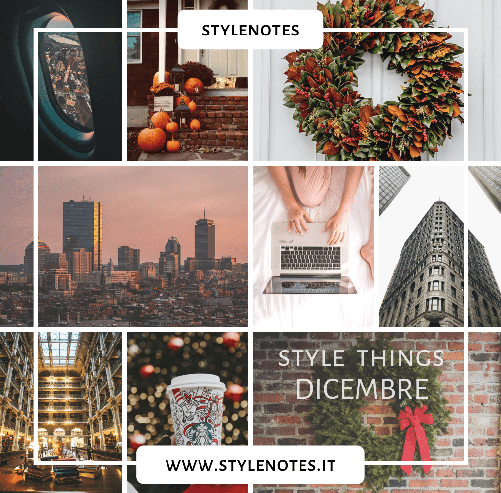 Style Things dicembre Usa Boston Baltimora