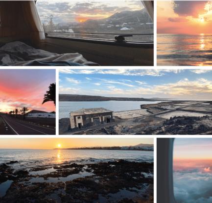 Tramonto a Lanzarote luoghi dove guardare