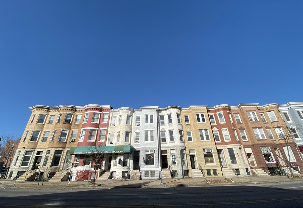 Baltimora quartieri principali visitare Maryland